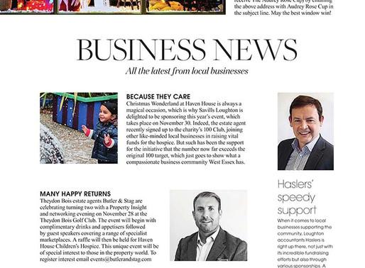 Business News, West Essex Life - November 2019