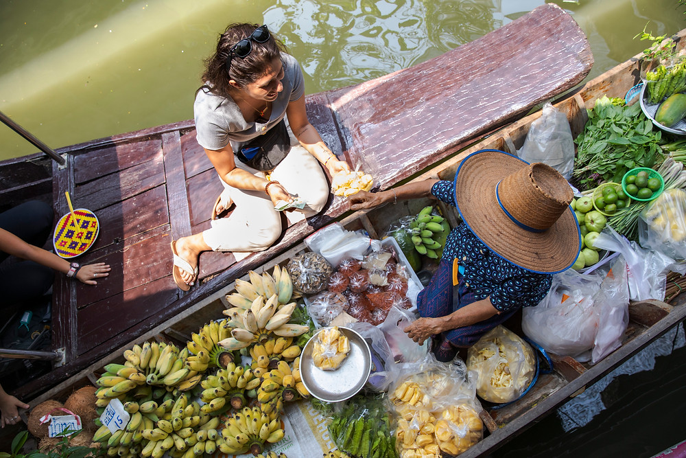Bangkok Floating Market Boat Tour