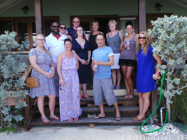 Danny and the team enjoy a memorable Jamaican experience.