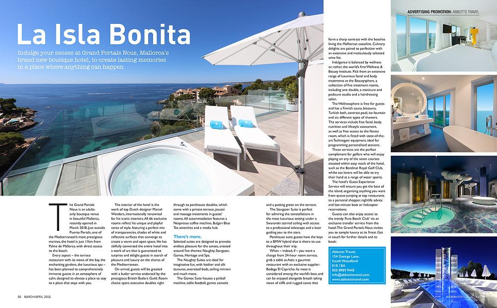 La Isla Bonita, E1iFE magazine