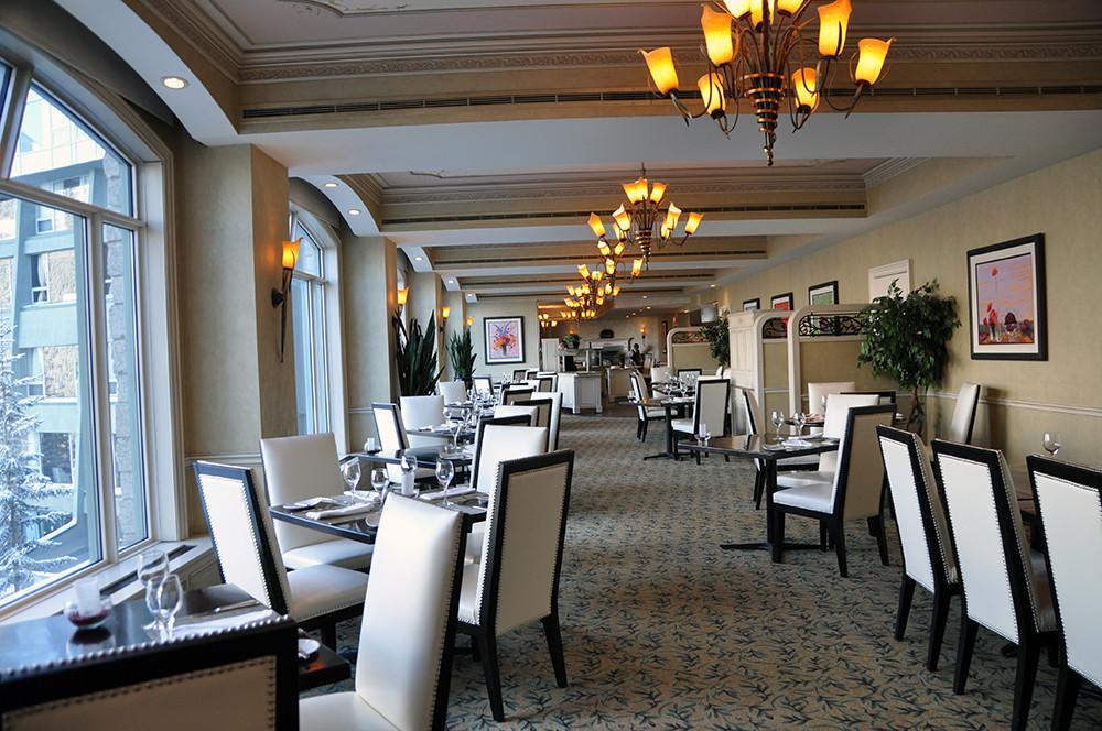 Primrose Restaurant, Rimrock Resort Hotel, Banff, Canada