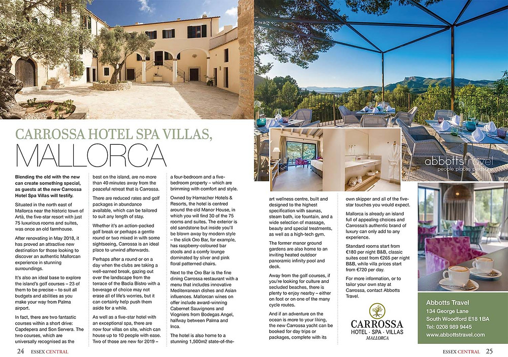 French Riviera, Essex Central Magazine