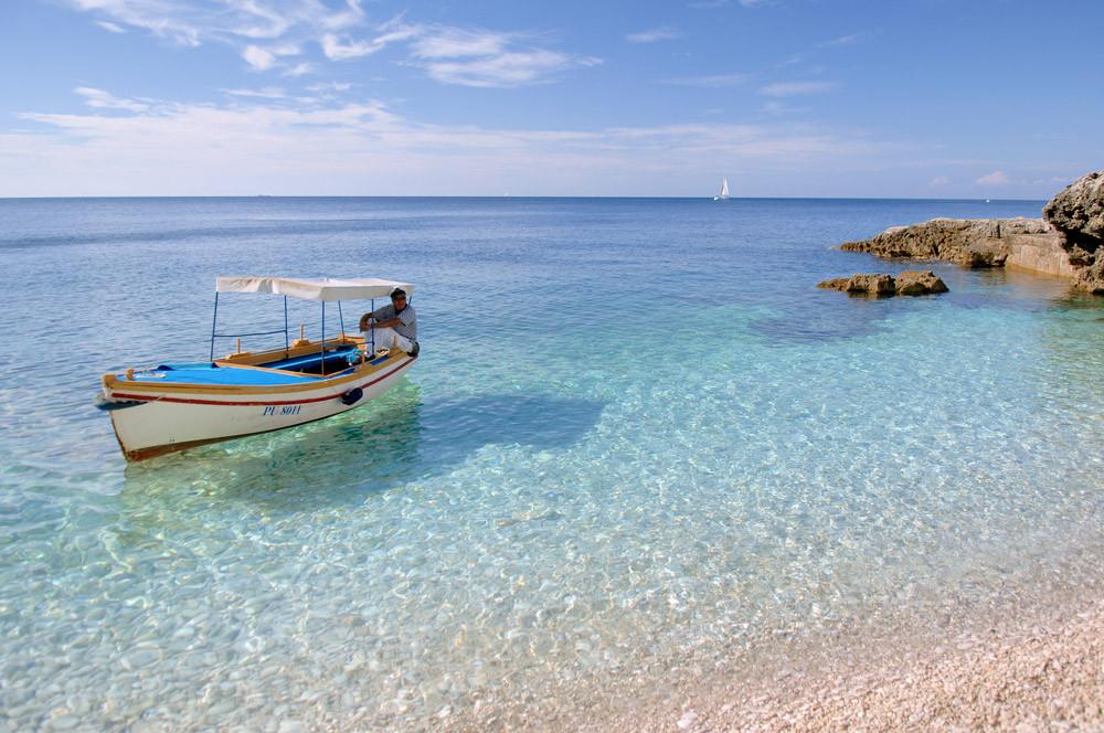 Pula Beach, Croatia