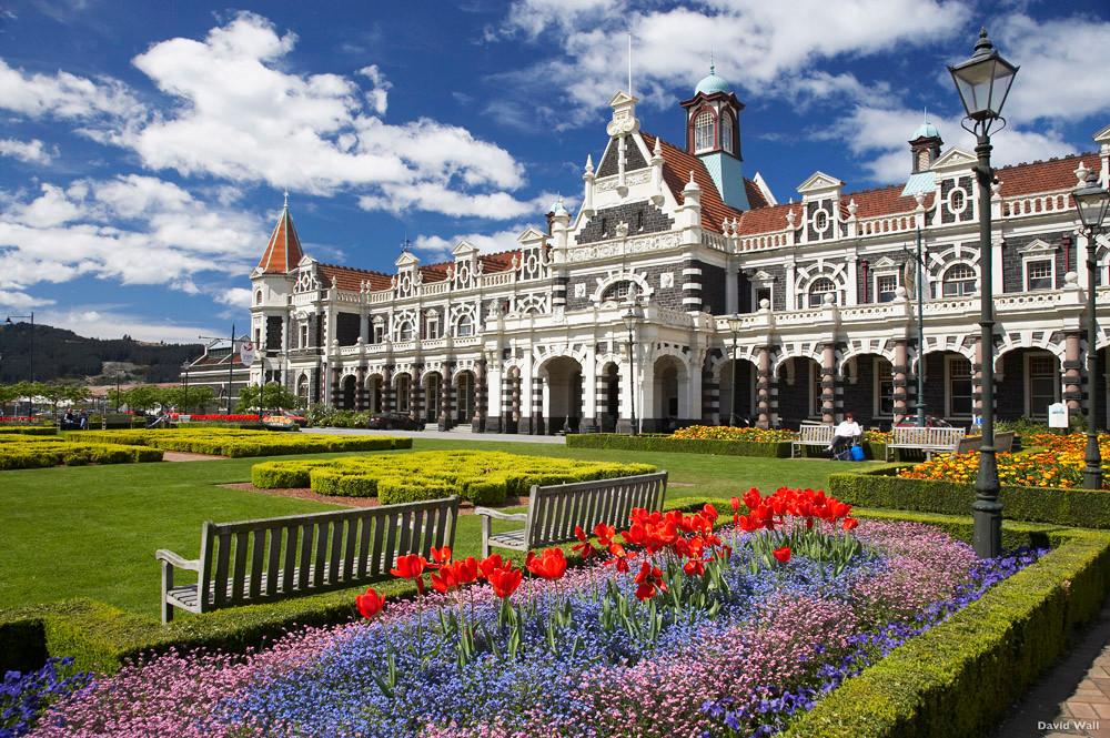 Dunedin Railway Station, New Zealand Tour