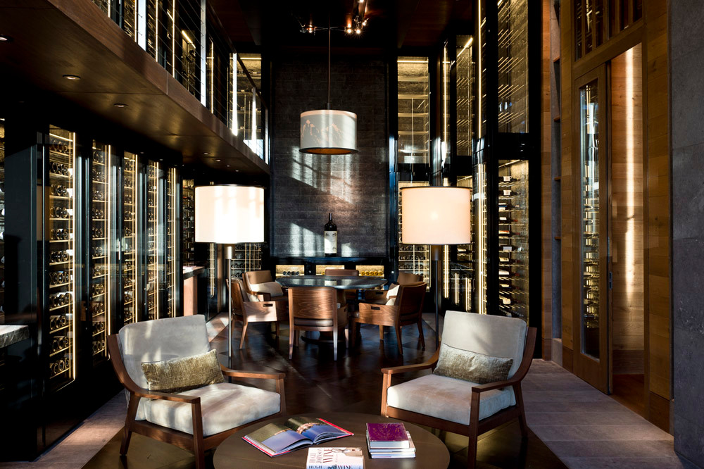 Wine Library in The Chedi, Andermatt