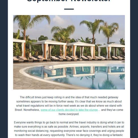Abbotts Travel Newsletter - September 2020