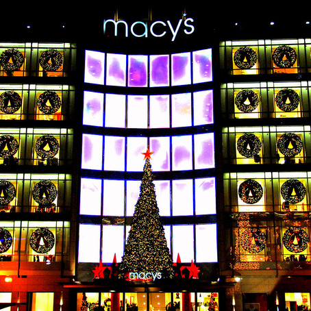 Experience of the Month: Christmas shopping in New York