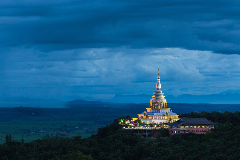 Ta Ton Temple at Chiang Mai