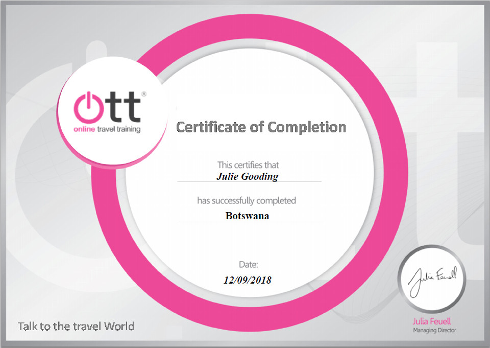 Hawaii Tourism online training