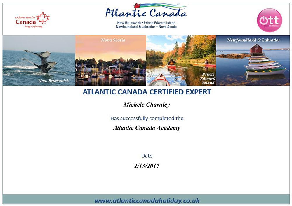 Atlantic Canada Academy training