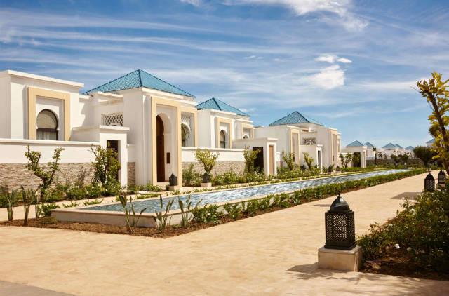 The gorgeous villa exteriors