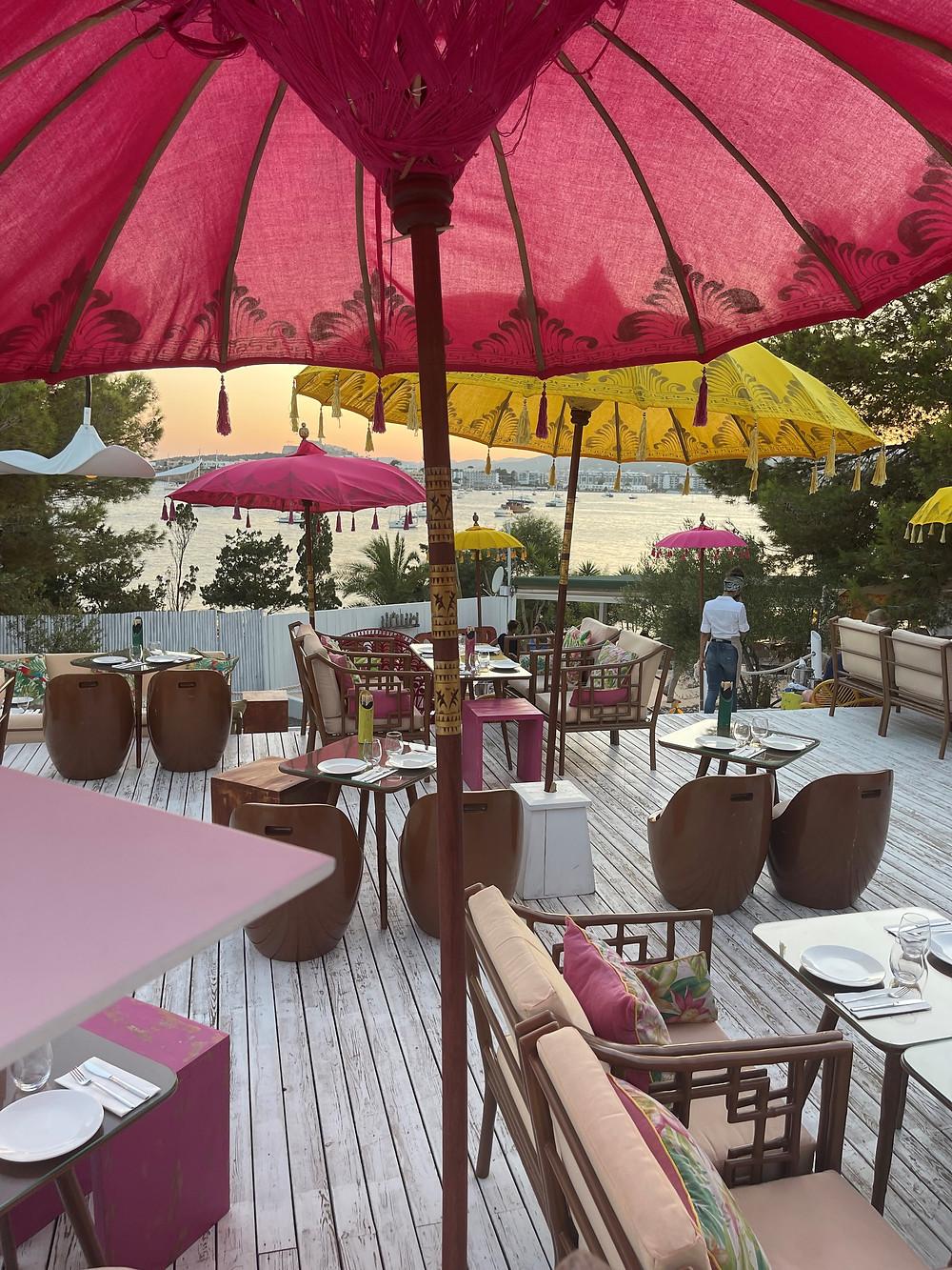 Ginger Restaurant on the edge of Talamanca