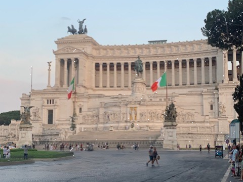 Client blog: When in Rome...