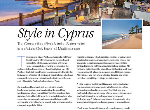 Style in Cyprus, West Essex Life - January 2020