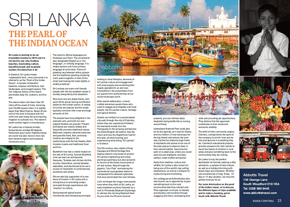 Sri Lanka: The Pearl of the Indian Ocean