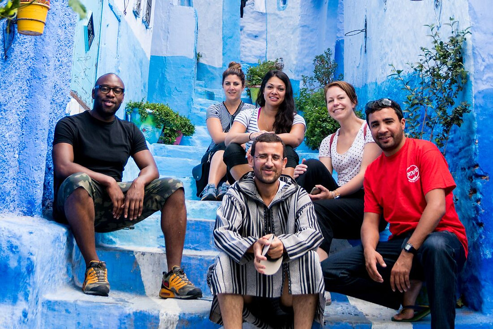Chefchaouen, Morocco. Photo courtesy of Intrepid Travel.