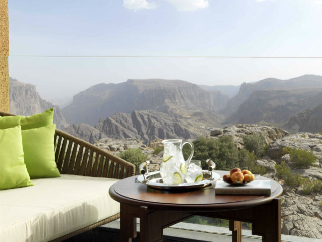 Premium balcony view from Anantara al Jabal al Akhdar