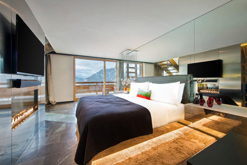 Wow Suite Bedroom, W, Verbier