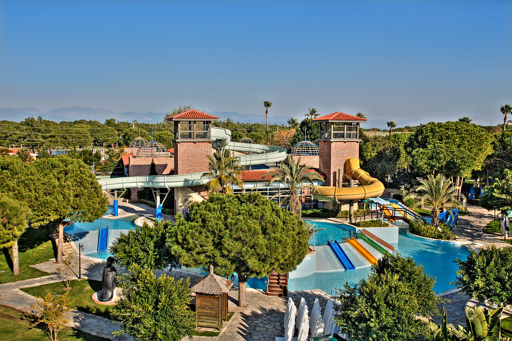 Aquapark at Gloria Golf Resort, Belek