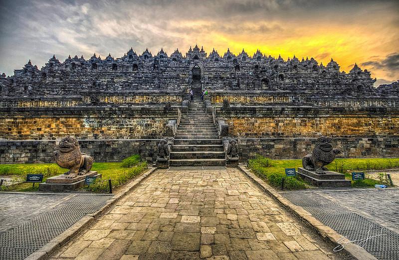 Borobudur, Bali
