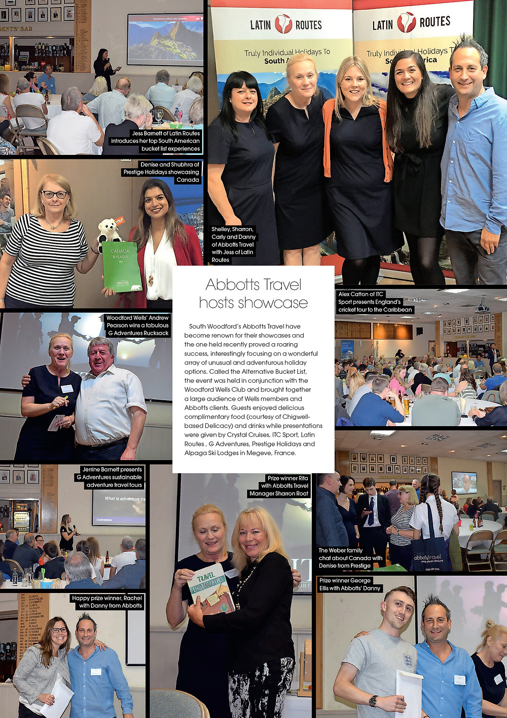 Abbotts Travel hosts showcase, West Essex Life