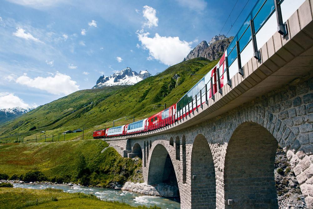 Traditional Glacier Express