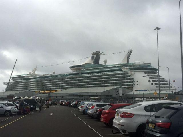 The Navigator of the Seas (note: car park optional)