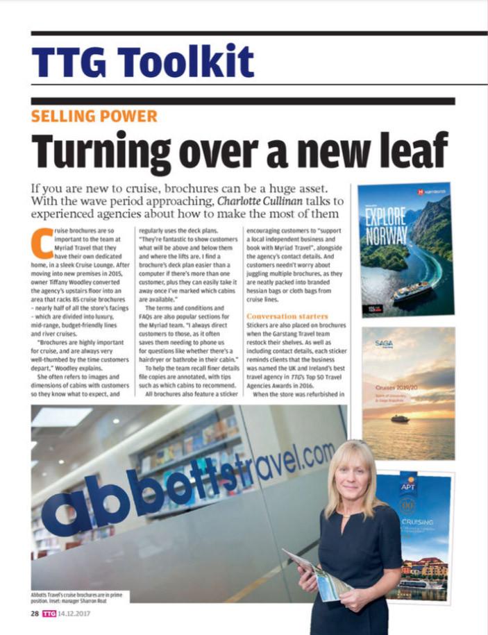 Turning over a new leaf, TTG Magazine