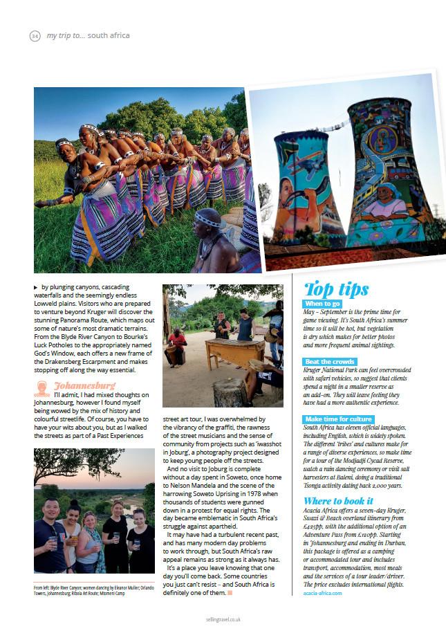 Selling Travel magazine