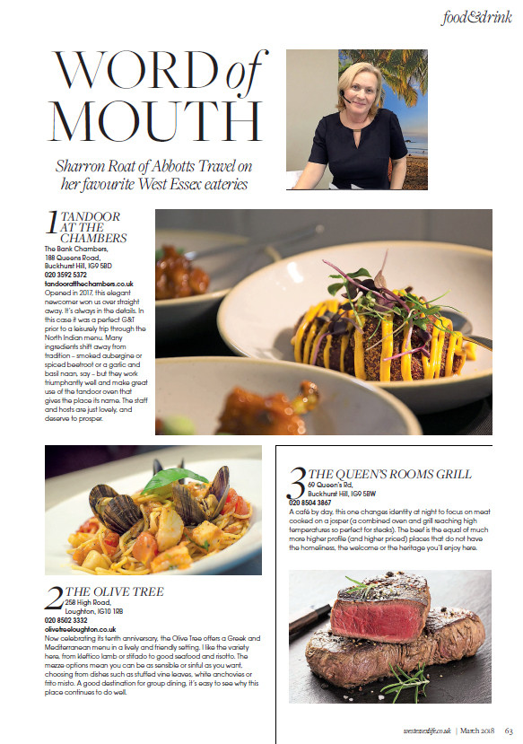 Word of mouth, West Essex Life
