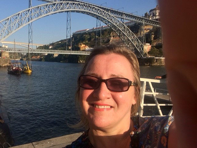 A view from the Douro, Portugal, featuring Julie