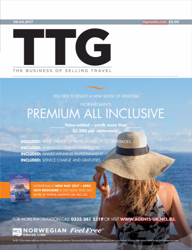 TTG magazine - 6 April 2017 cover