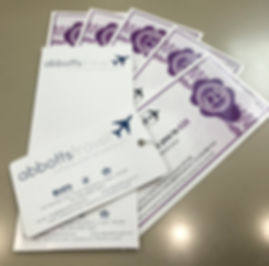 Abbotts Travel Gift Vouchers
