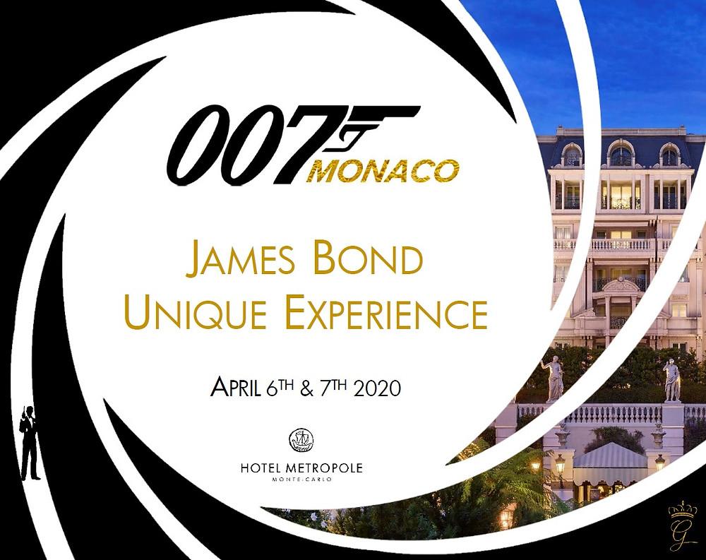 James Bond Unique Experience in Monaco