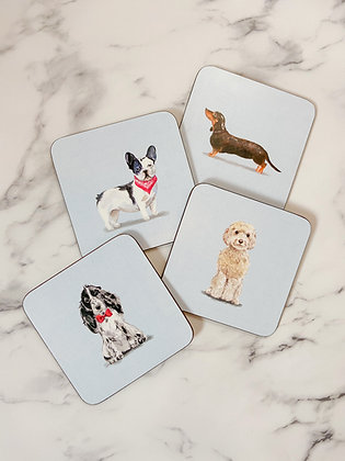 Perfect Pup Coasters