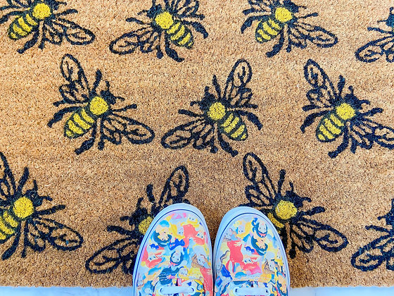 All The Bees Doormat