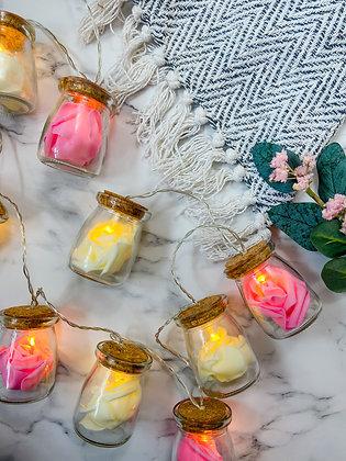 LED Flower Jars - 10