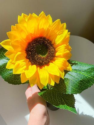 Artificial Sunflower in Pot