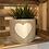 Thumbnail: White Heart Planter