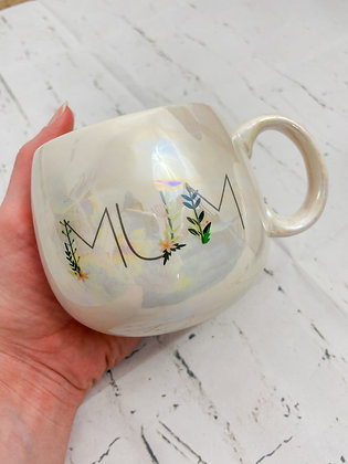 Iridescent Mum Mug
