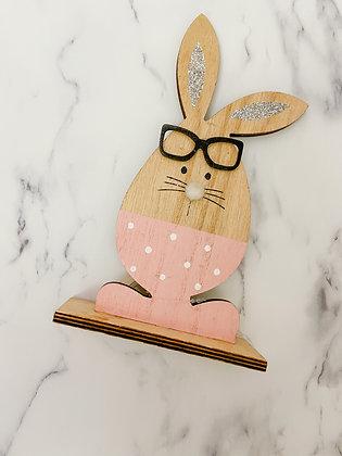 Pink Easter Rabbit
