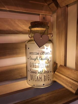 Light-up Jar