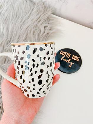 Dog Lady Mug and Coaster Gift