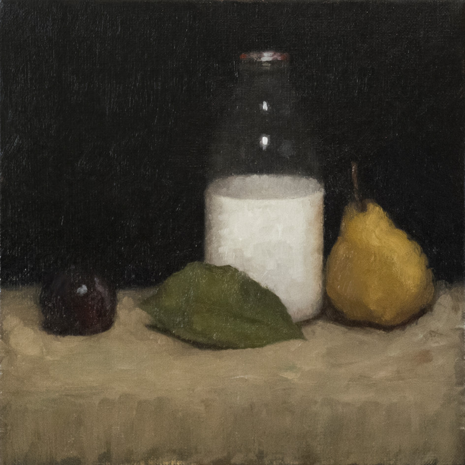 Still life with williams pear