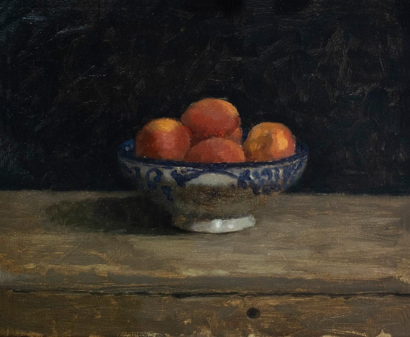 Bowl of Nectarines