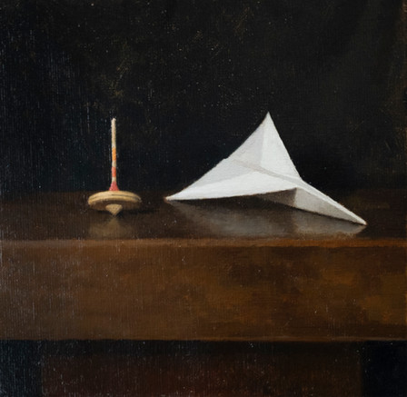 Paper Plane and Spinning Top