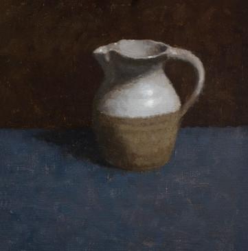 Crail jug on blue