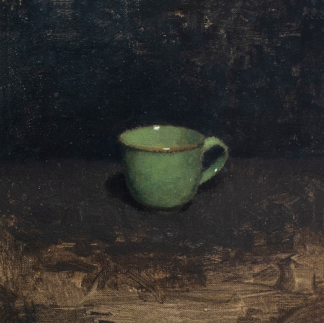 Green coffee cup III