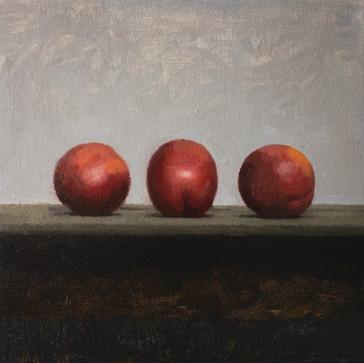 Three Nectarines