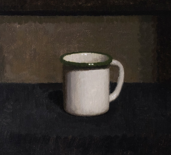 Green-Rimmed Cup